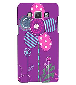 Citydreamz Floral Design Hard Polycarbonate Designer Back Case Cover For Samsung Galaxy Core 2 G355H