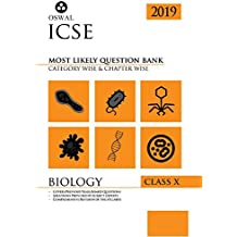 Most Likely Question Bank for Biology: ICSE Class 10 for 2019 Examination