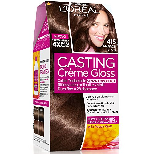 cheveux marron glace garnier coiffures la mode de cette saison. Black Bedroom Furniture Sets. Home Design Ideas