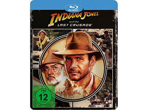 Indiana Jones and the Last Crusade - Limited Edition Steelbook - Futurepak - Novobox Edition - Geprägt - Blu-ray [Blu-ray]