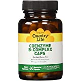 Country Life Coenzyme B-Complex Vegetarian Capsules, Cellular Active (Vitamin B), 60-Vegetarian Capsules by Country...