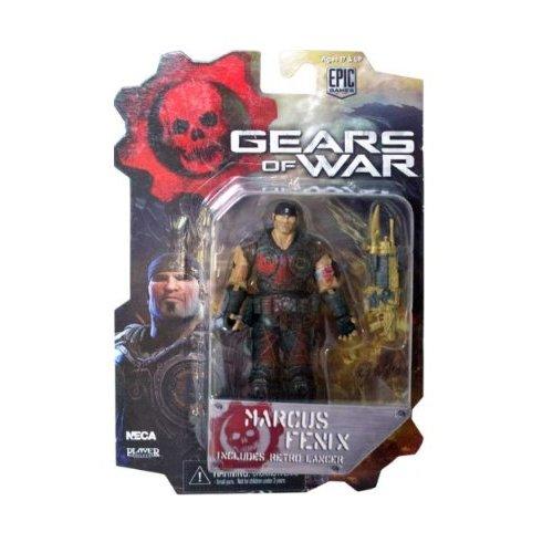 Neca Gears of War 3 Series 1 Marcus Fenix Bloody Variant, Figura