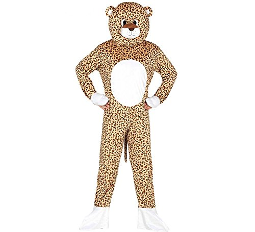 Kostüm Overall Löwe Maskottchen - Kostümmaskottchen Leopard Größe nur für Erwachsene