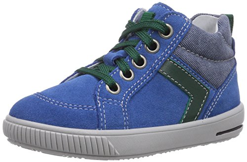 Superfit  MOPPY, {Chaussures premiers pas pour bébé (garçon) Bleu - Blau (DENIM KOMBI 94)