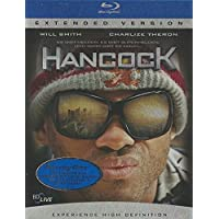 Hancock Blu Ray Disc Extended Version Steelbook