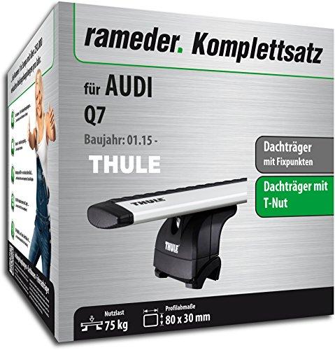 Rameder Komplettsatz, Dachträger WingBar EVO für Audi Q7 (128320-14159-1)