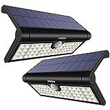 [2 Pezzi] Mpow 58 LED Luce Solare Pieghevole con Sensore di...