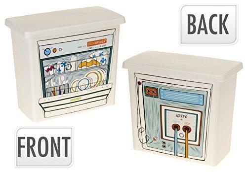 Easybox Wäsche Geschirrspüler Waschpulver Tabletten Plastik Aufbewahrungsschachtel Behälter