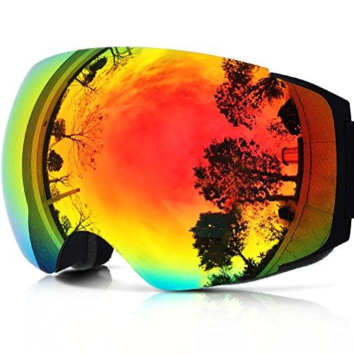 ZIONOR Lagopus X4 Motos nieve Snowboard Skate gafas