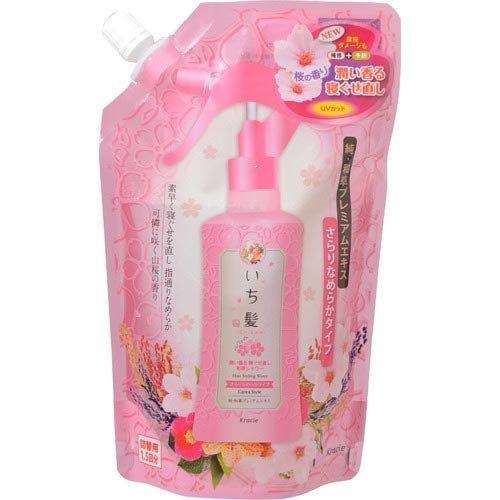 Ichikami Japanese shampoo back hair moisture fragrant sleeping habit Waso shower without hesitation 375mL for exchange smooth type packed