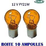 10 LAMPES PY21W 12V