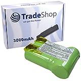 Hochleistungs Li-Ion Akku 3,6V/3000mAh für AEG Junior 3000 Handstaubsauger ersetzt folgende Akkutypen: 520104