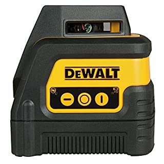 Dewalt DW0811-XJ 360 Degree Line and Cross Line Laser Level, 0 V, Black/Yellow, Set of 6 Piece