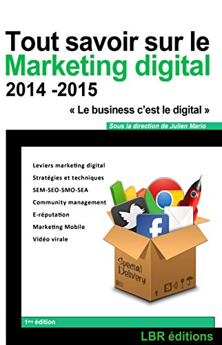 Tout savoir sur le Marketing Digital: Web marketing, Stratégies et techniques - SEM/SEO/SMO/SEA, E-Réputation, Community Management. (Gestion marketing digital 1)