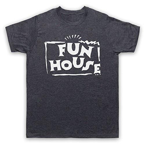 Inspiriert durch Fun House Contestant TV Show Unofficial Herren T-Shirt Jahrgang Schiefer