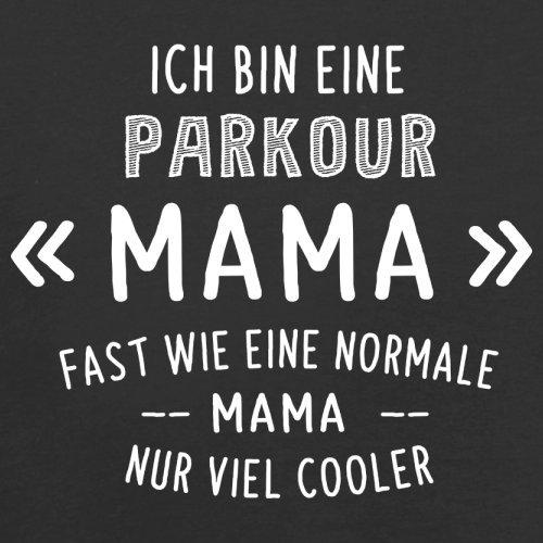 Ich bin eine Parkour Mama - Herren T-Shirt - 13 Farben Schwarz