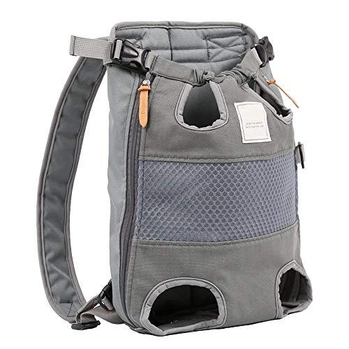coil.c Dog Pet Carrier Hundetasche Rucksack für Hunde, Reisetasche Verstellbare Haustiertasche Out Hunde Rucksäcke, Easy-Fit für unterwegs Wandern Camping