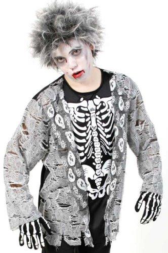 Fries 1961 Zombie Junge Teenie Kostüm Fasching Karneval Halloween Verkleiden: Größe: 152