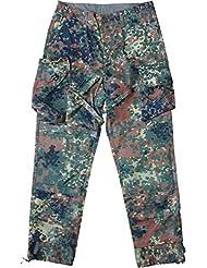 Uso Pantalones de combate de Leo Köhler, 5farbflecktarn de Ripstop, XXL