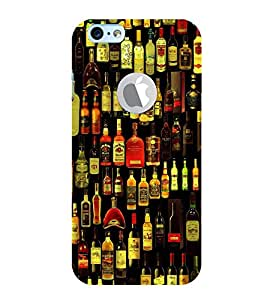 FIOBS daaru alcohal all multi brands enjoy partyhard drink responsibly Designer Back Case Cover for Apple iPhone 6S (Logo View Window Case)