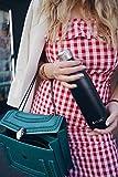 FLSK – Trinkflasche 750ml Thermosflasche | Schwarz aus Edelstahl | Isolierflasche hält 18h heiß, 24h kalt, Thermokanne - 6