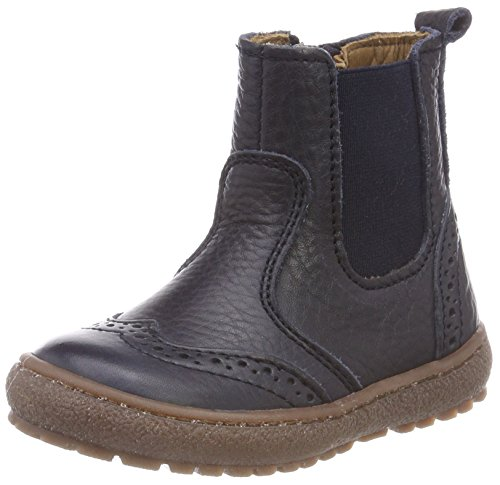 Bisgaard Unisex-Kinder 50702218 Chelsea Boots, Blau (608 Navy), 34 EU