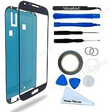 Kit de Reemplazo de Pantalla Táctil para Samsung Galaxy S4 i9500 i9505 Negro Incluye Pinzas / Cinta adhesiva 2 mm / Kit de Herramientas / Limpiador de Microfibra / Alambre Metálico / Manual de Instrucciones MMOBIEL