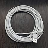 USB Cables - New Cable 5M/1.2M/0.2M Micro USB Charging Data Cable Adapter for Phone White For powerbank cable (1.2M)