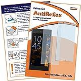 2 x mumbi Displayschutzfolie für Sony Xperia XZ / XZs Schutzfolie AntiReflex matt (bewusst kleiner als das Display, da dieses gewölbt ist)