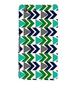 PrintVisa Designer Back Case Cover for Sony Xperia M5 Dual :: Sony Xperia M5 E5633 E5643 E5663 (Girly Pattern Tribal Floral Fabric Culture Rajastan Andhra)