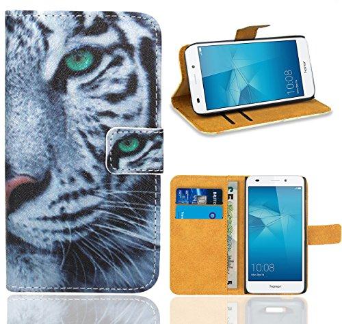 FoneExpert® Huawei Honor 5C Handy Tasche, Wallet Case Flip Cover Hüllen Etui Ledertasche Lederhülle Premium Schutzhülle für Huawei Honor 5C (5c Case Wallet)