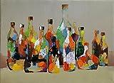 Legendarte PD-06 Cuadro Botellas. Impresión Digital