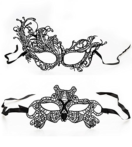 Dance Fairy Lady Girl Lace Eye Mask Halloween Masquerade Party Adult Children Set A