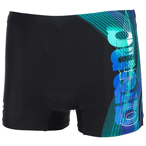 Arena M Fuego Short Black / Turquoise
