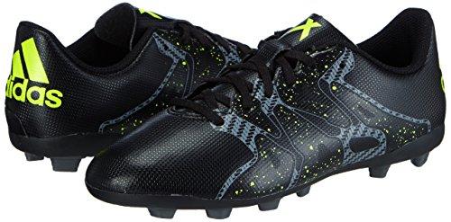 adidas Chaos Entry FxG  Unisex Kids  Football Boots  Black - Schwarz  Core Black Solar Yellow Night Met  F13   5 UK