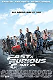 Poster del Film USA Fast And Furious 6, Finitura Lucida, MOV283 24' x 36' (61cm x 91.5cm)