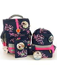 'School-Mood–Set di accessori 7pezzi Timeless M.B. Mia cane & gatto 08808Mia/Cane & Gatto