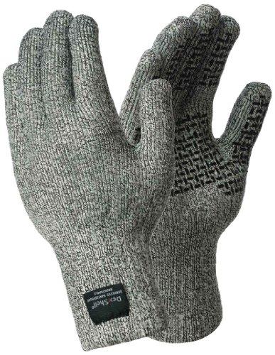 DexShell Wat-Strümpfe, wasserdicht, Techshield Touchscreen-Handschuhe Small grau - grau