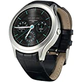 [ Smartwatches ]-FLOVEME 1,3 Pulgadas Android 4.4 IPS Monitor 1.2G de Doble Núcleo Rom con 4G Ayuda WIFI GPS Nano Tarjeta SIM y Aplicación de la Salud para Dispositivos y Compatible con los Dispositivos IOS Android,De plata