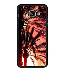 Fuson Designer Back Case Cover for Samsung Galaxy A5 (6) 2016 :: Samsung Galaxy A5 2016 Duos :: Samsung Galaxy A5 2016 A510F A510M A510Fd A5100 A510Y :: Samsung Galaxy A5 A510 2016 Edition (Tree Palm Tree Desert Plant Sharp Leaves Long Leaves)