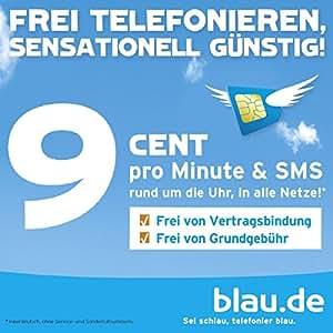 Blau Mobilfunk SIM-Startpaket inkl. 10 EUR Startguthaben