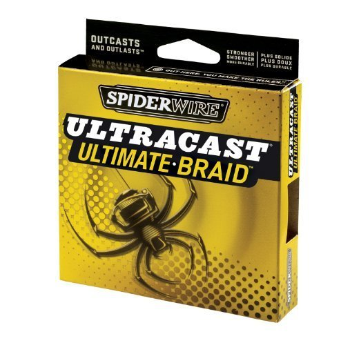 Spiderwire Angelschnur Ultracast Ultimate Braid 1500-yard Spule, Lo-Vis Green (Ultracast Ultimate-braid)