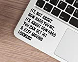 Best Laptop Decals - Rawpockets 'Keep Moving Forward' Laptop Decals Review