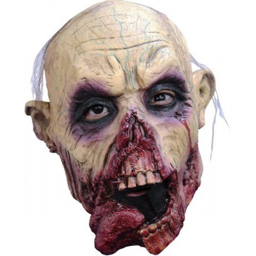 Zombie Zunge Maske Kopf Latex Kostüm Halloween - Junior-halloween-kostüme