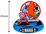 Lexibook - RP500AV - Radio Réveil Projecteur Avengers