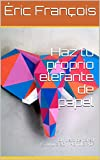 Haz tu proprio elefante de papel: DIY deco de pared | Escultura 3D | Plantilla PDF (Ecogami/Escultura de papel nº 42)