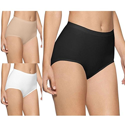 Seamless Womens Maxi Briefs Light Control Knickers S-XXXL (8-30) Ladies Surefit