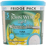John West Tuna, Light Mayo and Sweetcorn Spreadables 255g