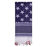 Rothco Stars and Stripes Shemagh Tactical Desert Scarf