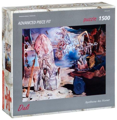 Editions Ricordi 5901N32079 - Dalì, Apoteosi di Omero, Puzzle da 1500 Pezzi